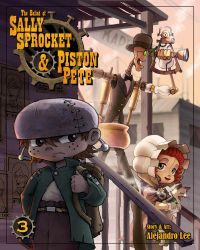 SSnPP issue 3 cover by 47ness
