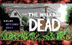 Walking Dead C64: Title Screen by NickBounty
