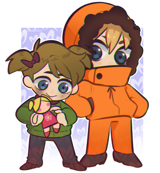 Karen and Kenny by Boddbby