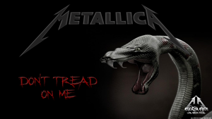 Dont Tread On Me Metallica Wallpaper by emfotografia