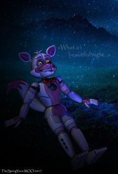 [C4D/FNAF] -What a beautiful night...- by TheSpringYanaWOO