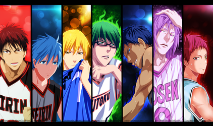Artbook Kaii: Kuroko no Basket [Collab] by The-103