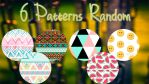 6 Patterns Random by Dianeyeditions