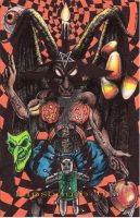 Halloween Baphomet by TheDaveL