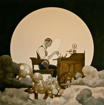 The Clockmaker by ShannonStamey