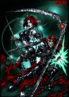 Gloomblade and Nailmeister by Candra