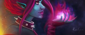 Evelynn - League of Legend by Noumenie