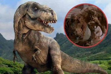 The T-REX  from Jurassic World  by Hellsmith5
