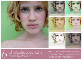 Photoshop Actions Set Three. by flamora