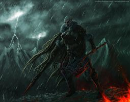 Raging storm by Soulfein