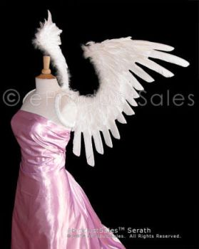 White SERATH Angel Wings ePs by eProductSales