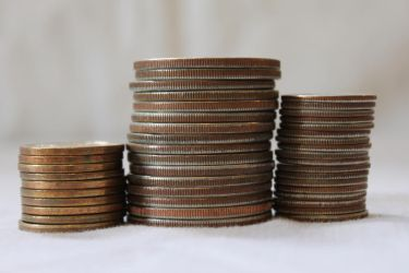 Coin Stack 5 by Hjoranna
