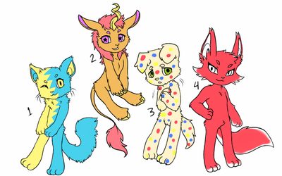 Kid core adopts! by GeneralKitty23
