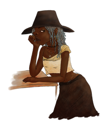 Bored Witch by Lasheslie