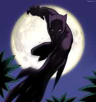 Black Panther by ebbewaxin