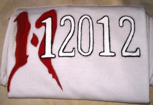 12012 t-shirt by JinGodOfDrums