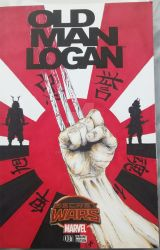 Old Man Logan Sketch Cover Commission