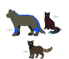 'Warrior' Cat Adopts - Adopted by coyd0g