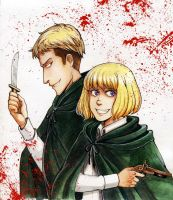 SNK Armin and Jean  ch 59 by MaryIL