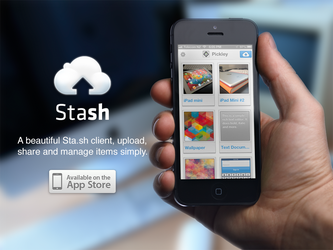 Stash - The Beautiful Sta.sh Client by Pickley