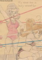 My Mom as a Lady Wrestler by crowew78