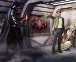 Doctor Who vs Darth Vader by Drombyb