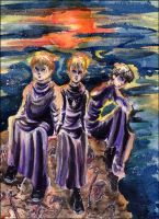 The Family -Young Death Eaters by GalacticDustBunnies