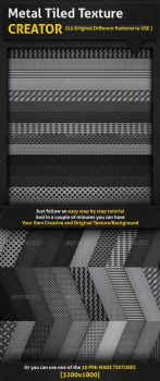 Metal Tiled Texture Creator by Crealextion