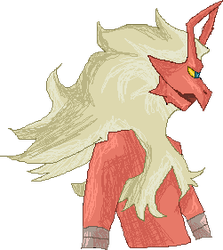 Blaziken For Howling Cat by somefreshmaymays