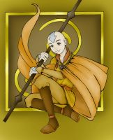 Aang the Last Airbender by SheWhoWalksWithThee