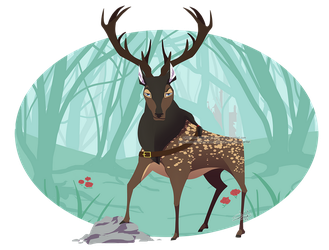 My, What a Deer by sambeawesome