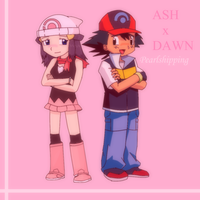 Pearlshipping: Ash and Dawn by DaDonYordel