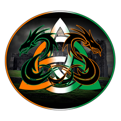 Vector Trinity Logo Backpatch 3 by CelticDragons