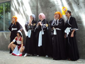 Bleach Women Characters by Hina-chan560