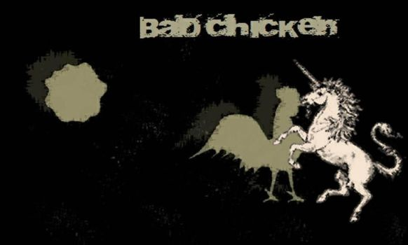 Bad Chicken and the Unicorn by aleXm-Carter