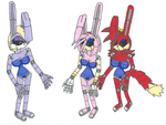 Request Bunnie and the Bunnybots by Power1x