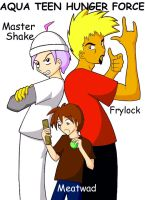 The Aqua Teen Hunger Force by TheDeluxeWar