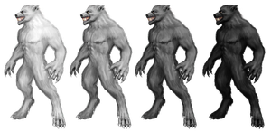 Werewolf Stock 1 by Rhabwar-Troll-stock