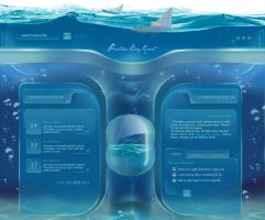 Aqua Web - Semi Promo design by Fedrick