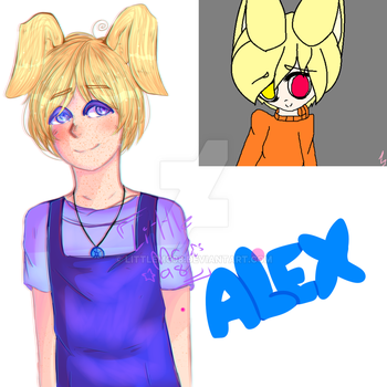 Alex Yuuto Re-Draw by LittleMc98