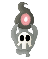 Duskull uses Memento by GlitzerKirby