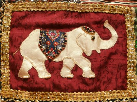 India inspired wall hanging - Detail 10 by RevelloDrive1630