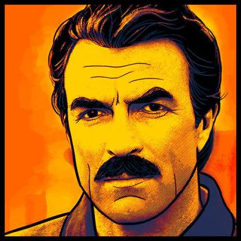 TomSelleck by space-ghost
