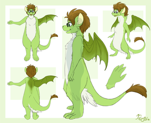 Bipedal Gwee - Fursuit Concept by EarthGwee