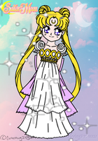 Princess Serenity - Collab by FlyingPrincess