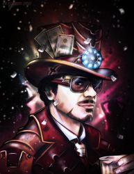 Its good to be Tony Stark by VoydKessler