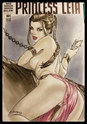 Naughty Slave Leia  by ebas