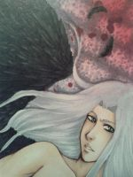 One winged Angel  ATC/ACEO by Misax3Misa
