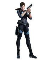 Jill Valentine Resident Evil Revelations Console by The-Blacklisted