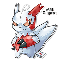 Zangoose Plush